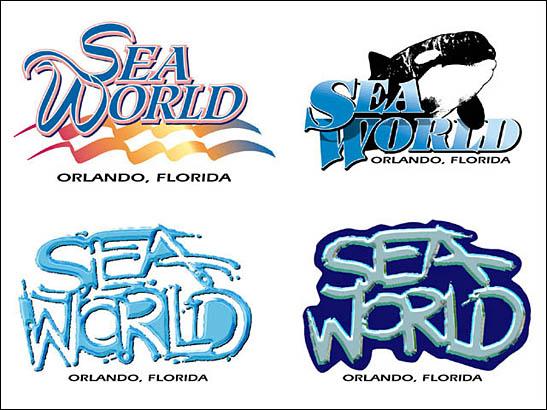 Sea World Logos